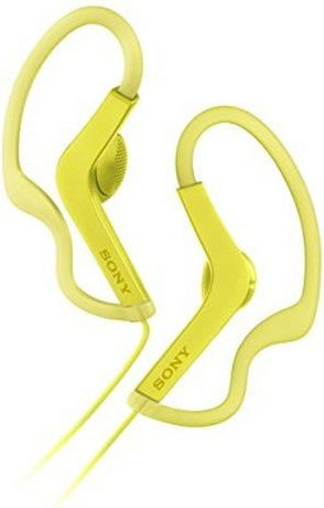 Buy sports Headphones with Microphone Sony MDR AS210 Yellow