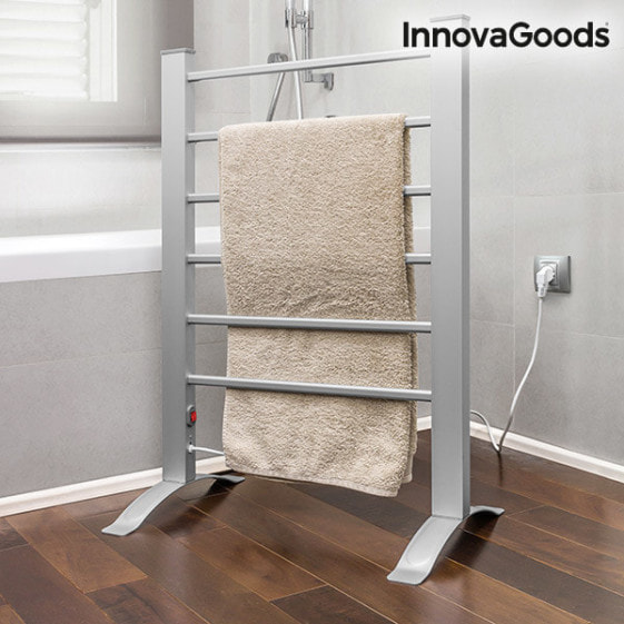 Buy innovaGoods Electric Towel Rack for Floor or Wall 90W Grey (6 Bars)